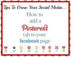 How to Add Pinterest to Facebook | Add Pages to Facebook