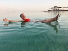 Hayden Panettiere Looks Happy and Healthy in Red Suit While Swimming in the DeadSea