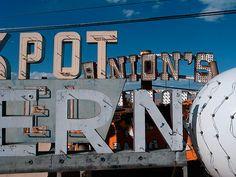 Neon Boneyard | Hoefler & Frere-Jones