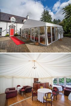 Extra marquee bar area on arrival with our Marquee Package. Thanks to Jay Doherty Photography for the photos. Civil Wedding, Bar Areas, Donegal, Wedding Receptions, Jay, Gazebo, Outdoor Structures, Patio, Doors
