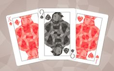 SHARDS playing cards by Michael Muldoon on Kickstarter. Court Cards