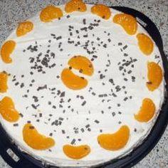 Quark-Sahnetorte mit Mandarinen und 87.000 weitere Rezepte entdecken auf DasKochrezept.de