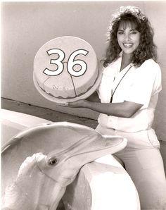 Nellie Celebrates her 36th birthday at Marineland