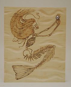 mermaid skeleton - Google Search More Text Tattoo, Arm Tattoo, Sleeve Tattoos, Trendy Tattoos, Unique Tattoos, Small Tattoos, Professional Mermaid, Mermaid Skeleton, Mandala Sleeve