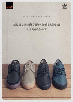 adidas Originals Seeley Boat & Adi-Ease 'Casual Deck'
