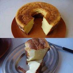 Bolo delícia de farinha láctea e leite condensado - Receitas da Vovó
