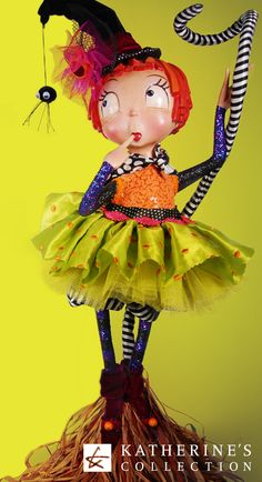 Katherine's Collection Coraline Figurine from our Candy Halloween theme.