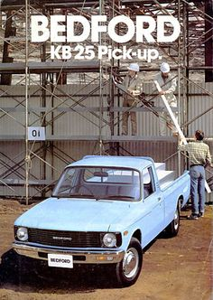 Is this the most obscure Vauxhall (well Bedford) of all? Meet the KB 25 pick up on totalvauxhall.co.uk