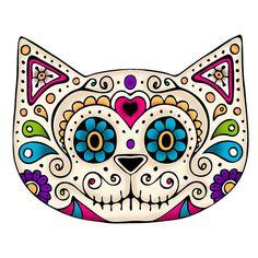 DIA DE LOS MUERTOS ☠~Day of the Dead~kitty。。。