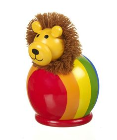 LION MONEY BOX GIFTS FOR BABIES BOYS AND GIRLS ORANGE TREE TOYS