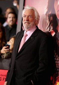 The Hunger Games Catching Fire. Donald Sutherland.