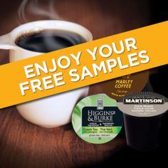FREE RealCup K-cup Coffee Sample Packs!