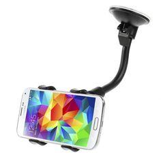Shop4 - Raamhouder Klem voor grote telefoons | Shop4Houders