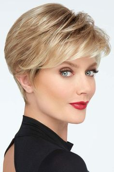 Like these Layered Bangs Go For It by Raquel Welch Wigs - Mono Crown, Lace Front Wig Hair Styles For Women Over 50, Hair Color For Women, Short Hair Cuts For Women, Haircut For Older Women, Short Hairstyles For Women, Short Shag Hairstyles, Wig Hairstyles, Short Haircuts, Short Cut Wigs