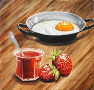 still life square in oils Punch Bowls, Amazing Art, Still Life, Art Work, Nova, Awards, Husband, Community, Artists