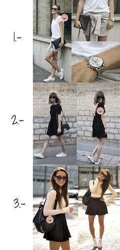 looks con zapatillas blancas trend trendy blog