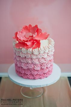 Great photos of PEI wedding cakes, custom cake and cupcakes | City View Bakehouse