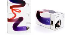 Application of Buhel - bone conduction technology graphic design rules on product packages. The project wins IF communication design award 2013.