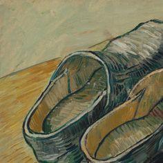 A Pair of Leather Clogs Vincent van Gogh, 1889