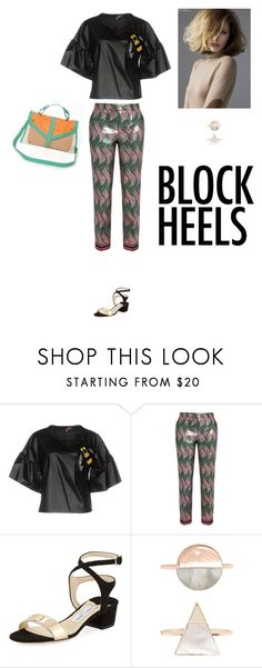 """Untitled #333"" by amory-eyre ❤ liked on Polyvore featuring Space Style Concept, Gucci, Jimmy Choo and Accessorize"