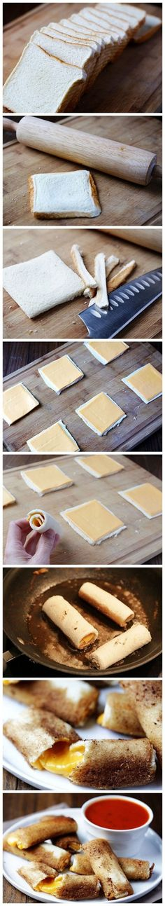 Grilled Cheese Sticks - Ten ingenious tricks that will revolutionize your cooking