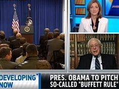 "Pres. Obama renews populist pitch, urges Congress to pass the ""Buffett Rule"" - Sen. Bernie Sanders, I-Vt., talks on MSNBC's ""Jansing & Co."" about the proposal which would set a minimum tax rate of 30 percent on millionaires."