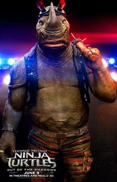 As Tartarugas Ninja: Fora das Sombras Teenage Mutant Ninja Turtles Out Of The Shadows Teenage Mutant Ninja Turtles, Ninja Turtles 2, Bebop And Rocksteady, Martial, Game Of Thrones, Paramount Pictures, New Poster, New Trailers, Movie Tv