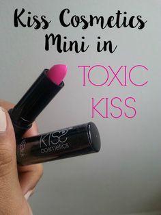KISS Cosmetics Mini Kisstick in Toxic Kiss - Class and Glitter