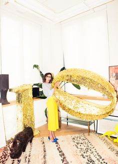 She's basically a style icon NBD. http://www.thecoveteur.com/jenna-lyons/