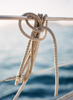 Sea rope ~ Photograph by Jose Villa. Sail Away, Set Sail, Nautical Fashion, In This Moment, World, Photography, Coastal Living, Coastal Fall, Summertime