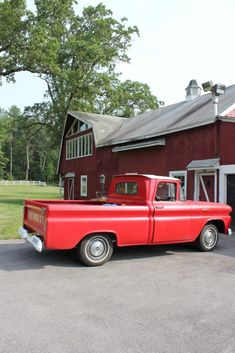 Tec Raines loves old pickup trucks. This little red beauty also serves as his mobile office and dining table. Kody and Larke use it during the story.