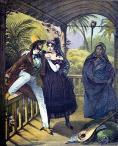 RUGENDAS, Johann Moritz. COSTUMES DE RIO JANEIRO. Domínio Público.