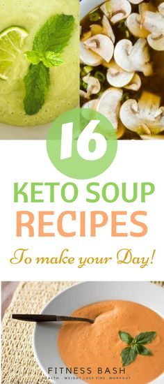 What about some creamy keto soup recipes to please your taste buds. Here are 16 keto soup recipes of different flavor which I love. Not only they are low carb diets but a perfect appetizer for a cold evening.