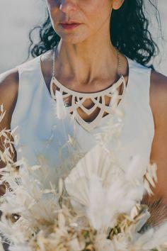 Gold Sand, Wedding Day Inspiration, Wooden Necklace, Model Photographers, Destination Weddings, Minimalist Fashion, Jewelry Shop, Wedding Bouquets, Wedding Styles