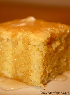 Grandma's Buttermilk Cornbread : from Tastes Better From Scratch
