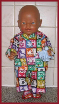 pyjama  slaap lekker.... :-)    poppenmode.com