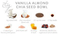Vanilla Almond Chia Seed Bowl