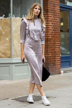 Get All the Outfit Inspiration You Need From the Style Set at London Fashion Week Day 2 Veronika Heilbrunner