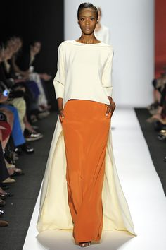 CH Carolina Herrera en la semana de la moda de NY.