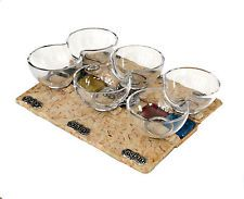 Passover Jerusalem Stone & Glass Seder Plate From Israe By Artist Koresh *