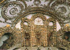 Capuchin Crypt beneath the church of Santa Maria della Concezione dei Cappuccini, Rome