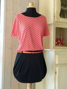 jupe boule Diy Clothes, Clothes For Women, Diy Vetement, Couture Sewing, Diy Couture, Bubble Skirt, Chic, Casual, Skirts