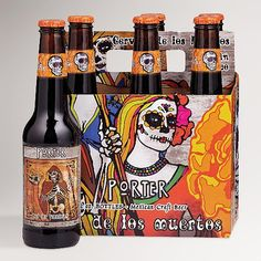Day of the Dead Porter (Pay the Ferryman) | Los Muertos Brewing (Modelo - Anheuser-Busch InBev)