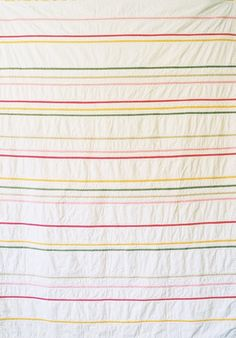 Creative Chicks: Girly Garden stripe quilt