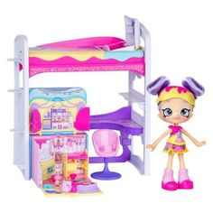 Shopkins Lil' Secrets Loft Playset - Best Toys for Kids Age 5 and up Best Kids Toys, Toys For Boys, Shopkins And Shoppies, Shoppies Dolls, Shopkins Happy Places, Kids Clothes Sale, Baby Doll Accessories, Toys Uk, Kid Bedrooms