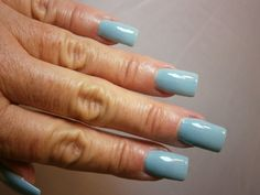 Tiffany Blue Nails by WonderBeautyProducts