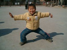 Tai chi chuan : YOUNGEST STUDENT IN CHENJIAGOU