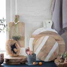 kitchen tools wood, marble, white