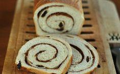 How to Make Cinnamon-Raisin Swirl Bread Cinnamon Swirl Bread, Brunch, Dry Yeast, Greek Recipes, Baking Pans, Baked Goods, Sweet Tooth, Food And Drink, Favorite Recipes