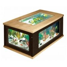 Coffee Table Fish Tank 299l Hexagonal Design In Rosewood By Starmekitten Favorite Places Spaces Pinterest Fish Tanks Coffee Tables And Reptiles